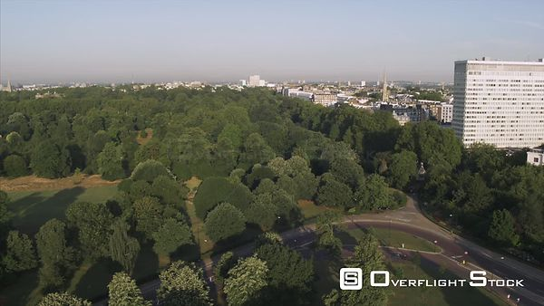 Drone Video Hyde Park and Residences London UK