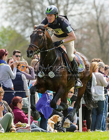 Kai Ruder and LEPRINCE DES BOIS - Cross Country - Mitsubishi Motors Badminton Horse Trials 2013.