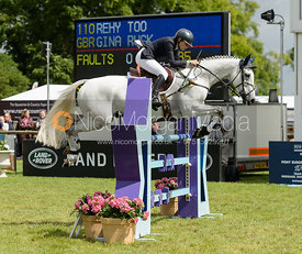 Gina Ruck and REHY TOO - Bramham International Horse Trials, June 2017