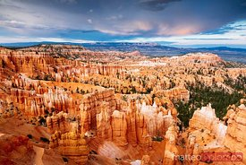 Sunset at Bryce Canyon National Park, Utah, USA