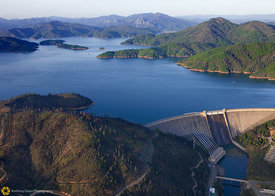 Shasta Dam from the Air #2
