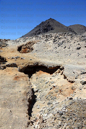 19th century guano extraction site at Punta Pichalo , near Pisagua , Region I , Chile