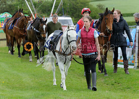 Pony racing parade ring
