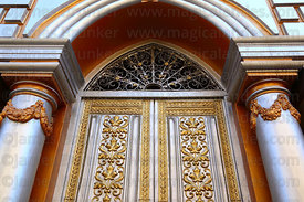 Door of the Casa Dorada / Golden Palace , Tarija , Bolivia