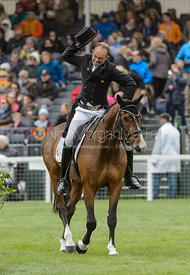 Jonty Evans and COOLEY RORKES DRIFT - Dressage - Mitsubishi Motors Badminton Horse Trials 2017