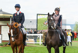 William Fox-Pitt (CHILLI MORNING) and Alan Davies (VALEGRO) - Champions Willberry Charity Flat Race - Cheltenham Racecourse, April 20th 2017