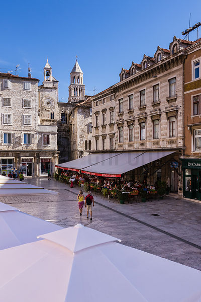 Main Square in Old Town Split