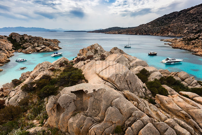 Cala Coticcio on the island of Caprera, in the Maddalena Archipelago