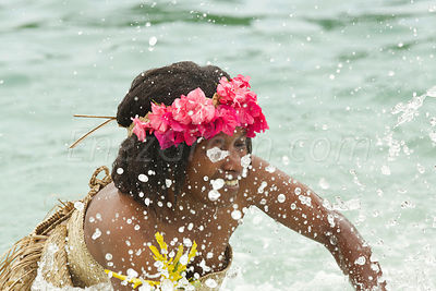 Vanuatu Women's Water Music in Loh, Torres islands