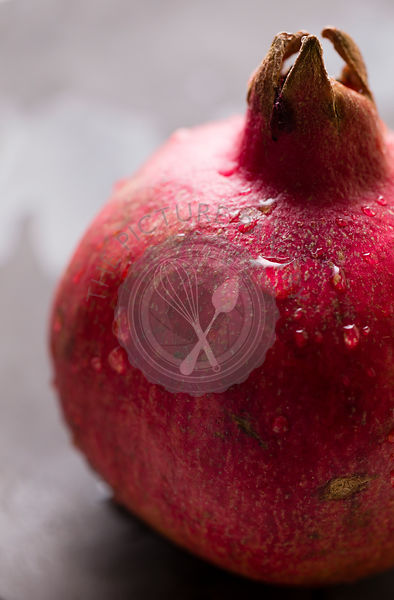 Pomegranate macro shot
