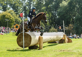 Lillian Heard and LCC BARNABY, cross country phase, Land Rover Burghley Horse Trials 2018