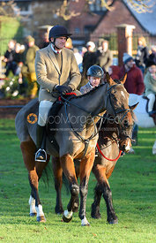 The Cottesmore Hunt in Melton Mowbray 2/1