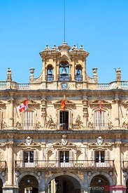 City hall, plaza Mayor, Salamanca, Spain