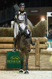 Bordeaux, France, 2.2.2018, Sport, Reitsport, Jumping International de Bordeaux - DEVOUCOUX Indoor Derby. Bild zeigt Maxime LIVIO (FRA) riding Boleybawn Prince...2/02/18, Bordeaux, France, Sport, Equestrian sport Jumping International de Bordeaux - DEVOUCOUX Indoor Derby. Image shows Maxime LIVIO (FRA) riding Boleybawn Prince.