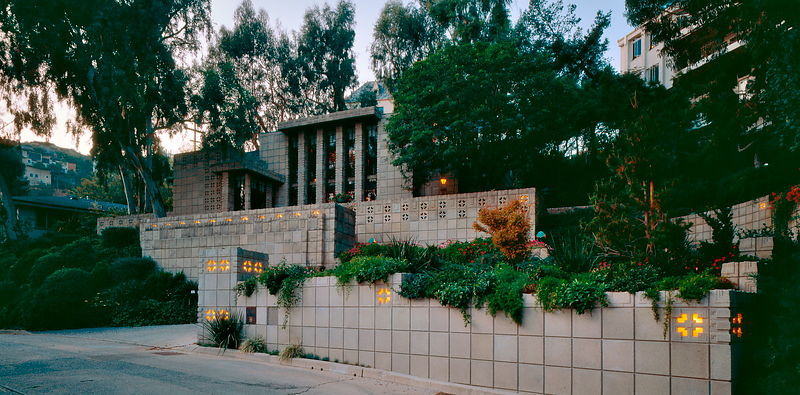 Frank Lloyd Wright House Los Angeles: Michael Freeman Photography