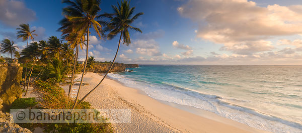 Bottom Bay at sunrise, St Philip Parish, South East Barbados, Eastern Caribbean