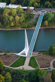 Sundial Bridge From the Air #21