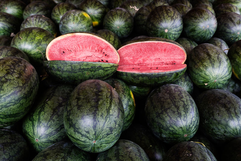 Water Melon at Hanoi Market