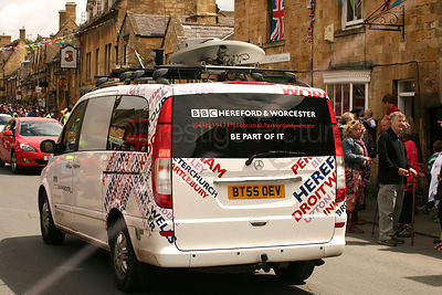 BBC Hereford and Worcester Satellite Broadcasting Truck