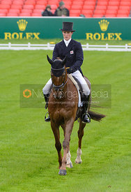 Tom McEwen and DRY OLD PARTY - Dressage phase, Mitsubishi Motors Badminton Horse Trials 2014