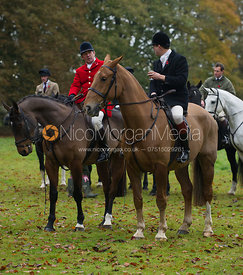 William Bell - The Cottesmore Hunt meet in Somerby 6/11