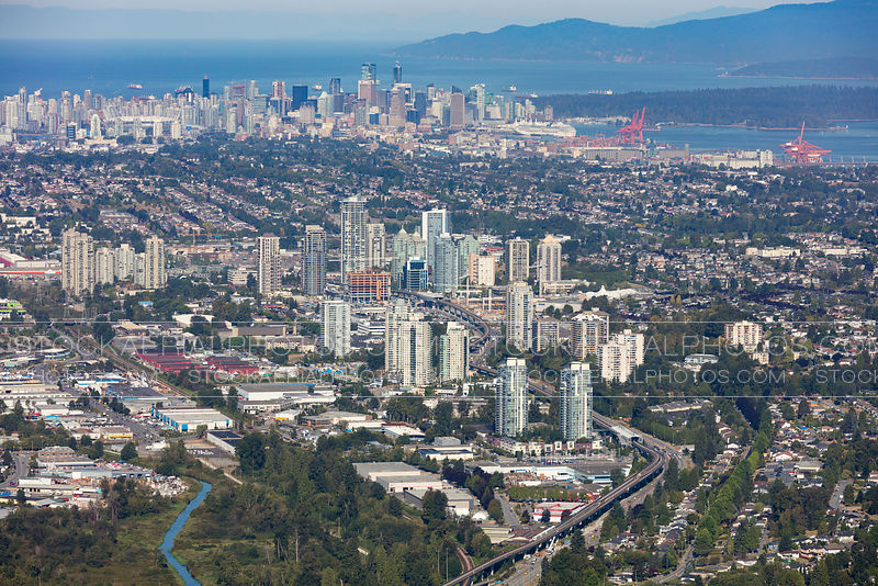 Burnaby City Skyline