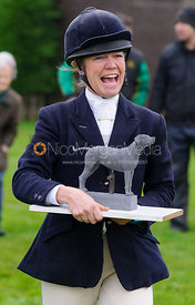 Juliet Cursham at the meet - The Quorn Hunt at Markham House 21/12