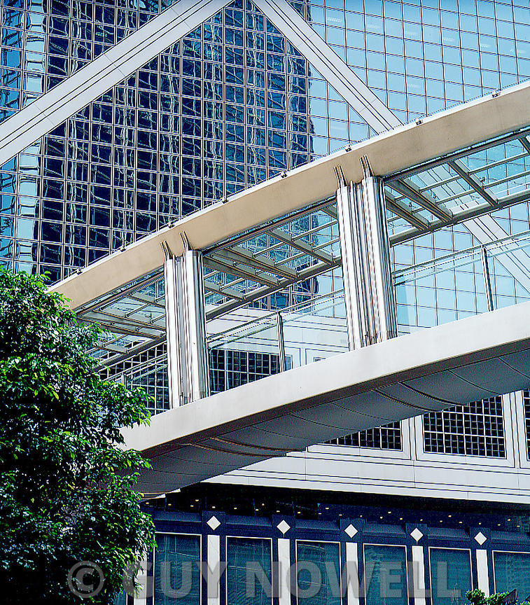 Footbridge, Cheung Kong Centre, Hong Kong