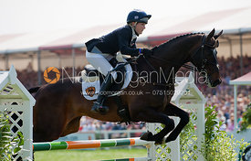 Laura Collett and Rayef - Show Jumping