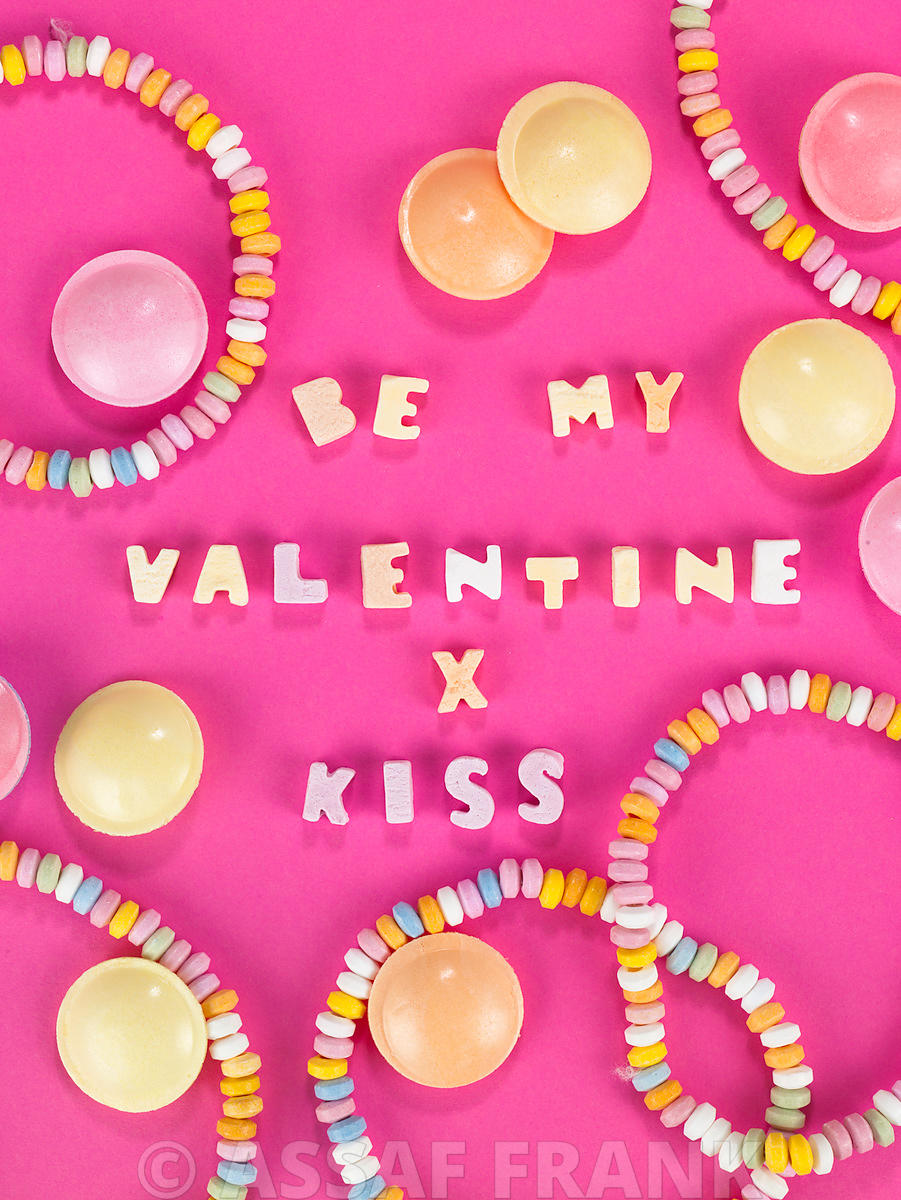 Penny sweets with be my valentine