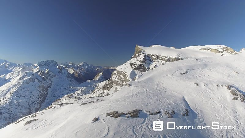 Glacier 3000 Gstaad Diablerets Swiss Alps Switzerland