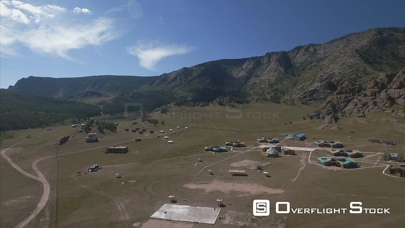 GorkhiTerelj National Park Drone Video Mongolia
