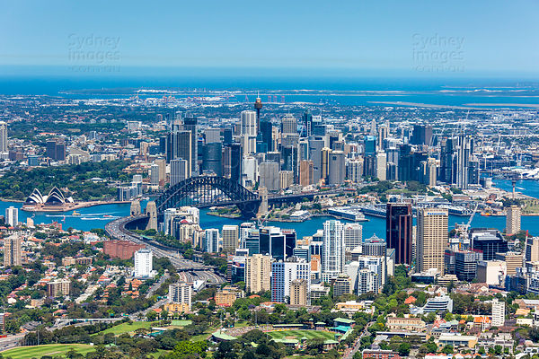 North Sydney and Sydney CBD