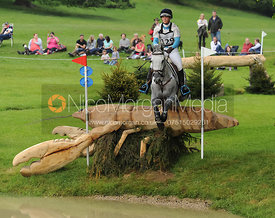 Dani Evans and SMART TIME - Bramham CCI***U25 2015