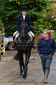At the meet - Quorn at Cold Newton 8-11-13