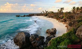 Harrismith beach at sunrise, Barbados, Caribbean
