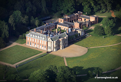 aerial photograph of Felbrigg Hall Norfolk England UK