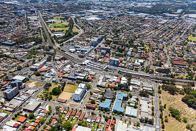 Lidcombe from the South