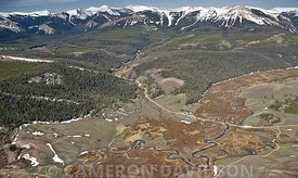 Aerial USA Wyoming