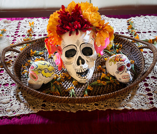 Day of the Dead show, Nov 2014 photos