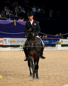 Alex Hua Tian and Grafenstolz - HOYS -  Express Eventing Dressage