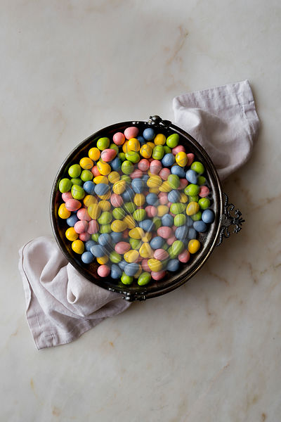 Easter Candies in a bowl