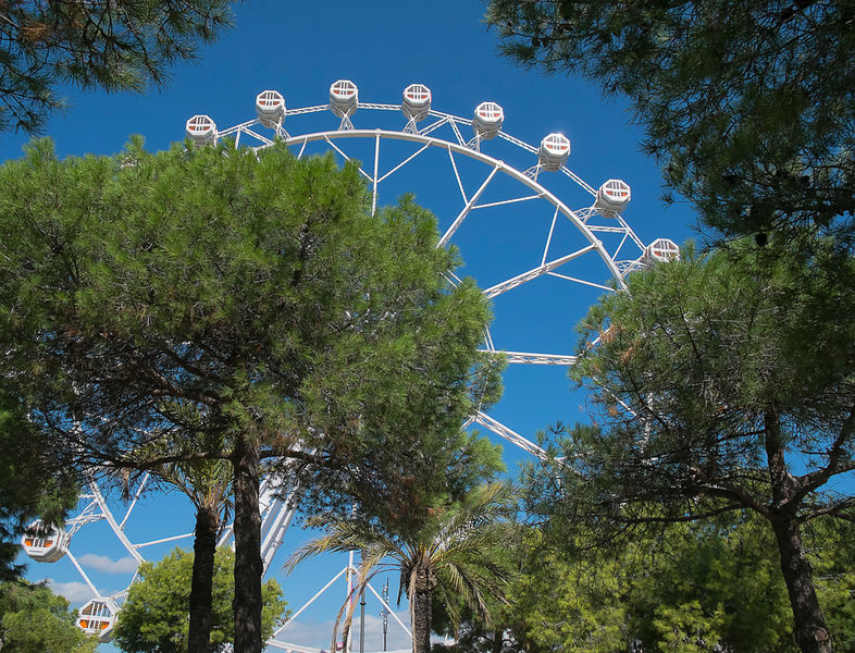 Ferris Wheel - Barcelona, Spain
