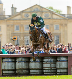 Michael Ryan and BALLYLYNCH SKYPORT - Cross Country - Mitsubishi Motors Badminton Horse Trials 2013.