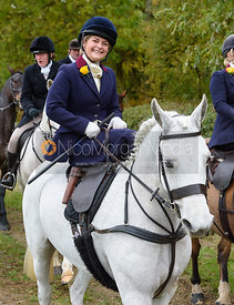 Stephanie Hensman near Gartree Covert - Quorn Hunt Opening Meet 2016