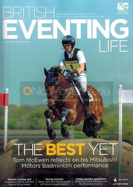 Tom Mcewen for British Eventing Life