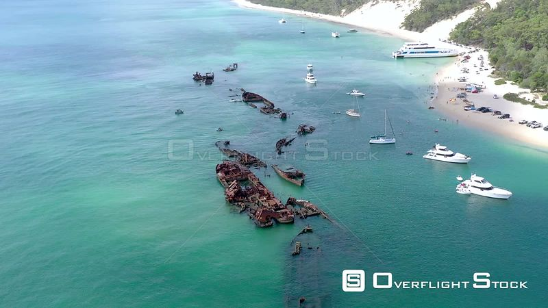 Australia Tangalooma Wrecks Queensland