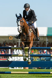 Michael Owen and BRADELEY LAW, showjumping phase, Land Rover Burghley Horse Trials 2018