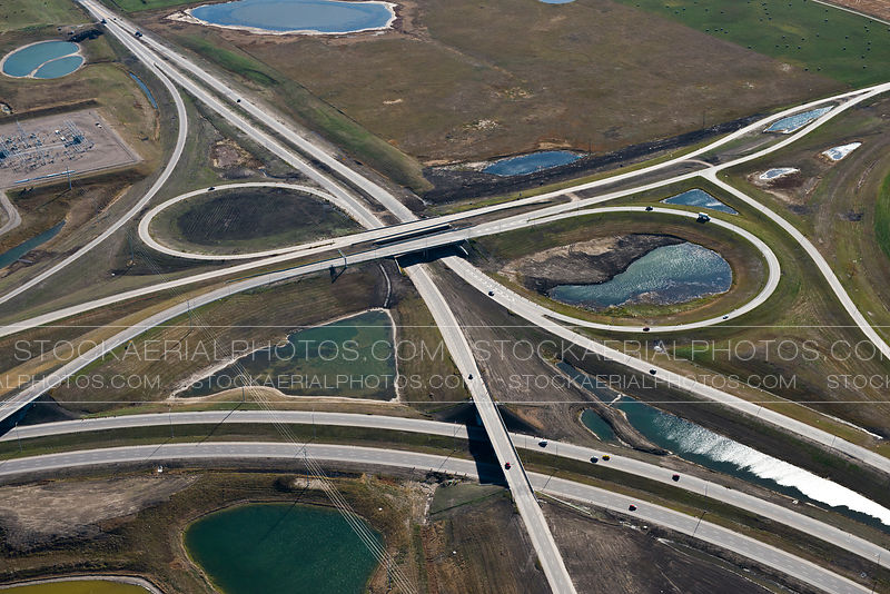 Deerfoot Trail at Stoney Trail Interchange