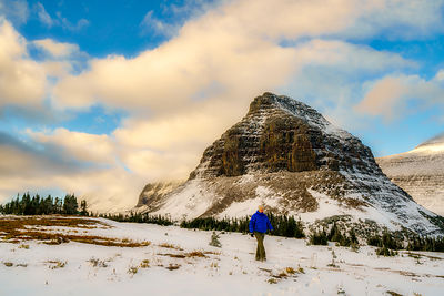 Logan Pass Winter